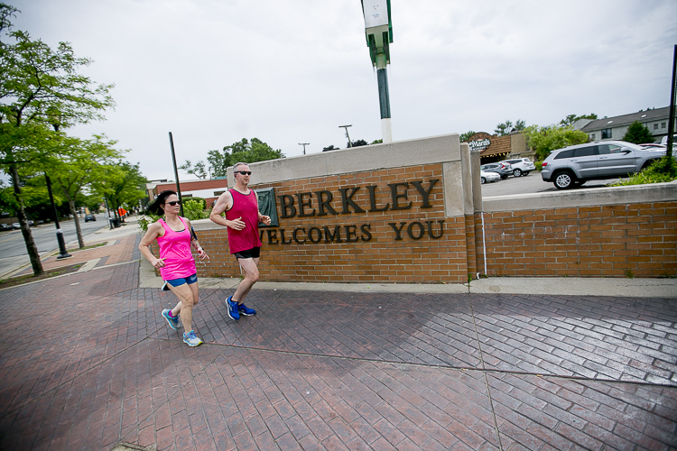 Berkley has a walkable downtown