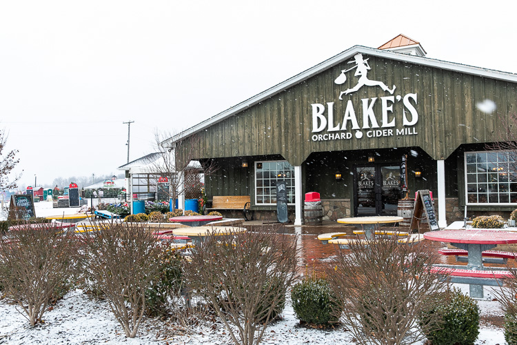 Blake's Orchard & Cider Mill. Photo by David Lewinski.