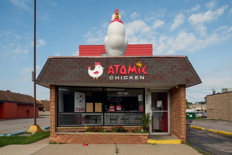 Atomic Chicken. Photo by Nick Hagen.