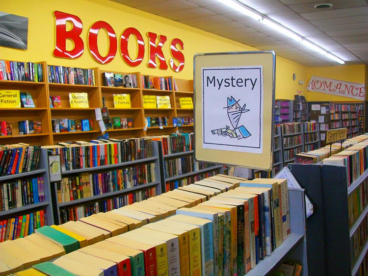 Patrons can bring in used books to The Books Connection to get a discount on purchases.