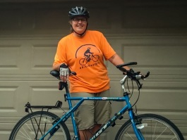 Tracy Besek, organizer of Bike Dearborn