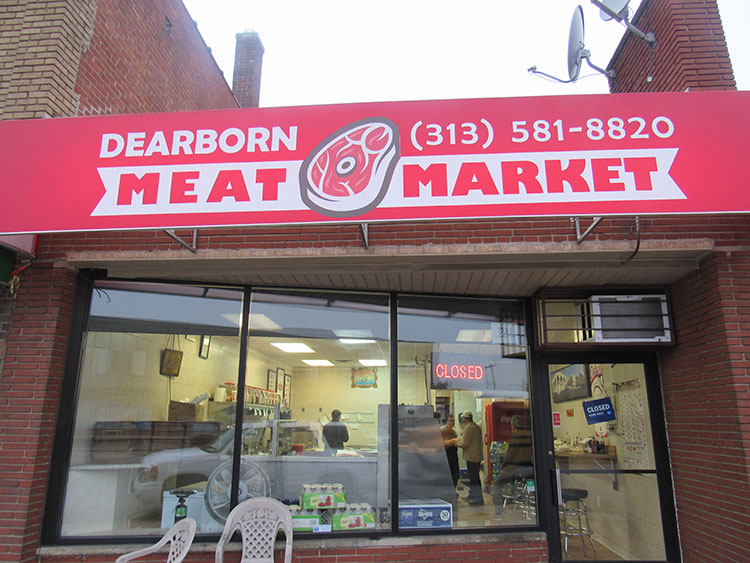 Dearborn Meat Market, Photo by Micah Walker.