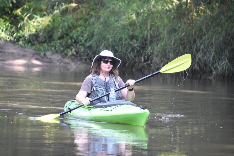 Kayaking in Macomb