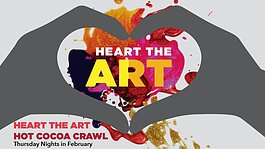 Farmington has transformed the second annual Heart the Art into a month-long strolling tour of downtown.