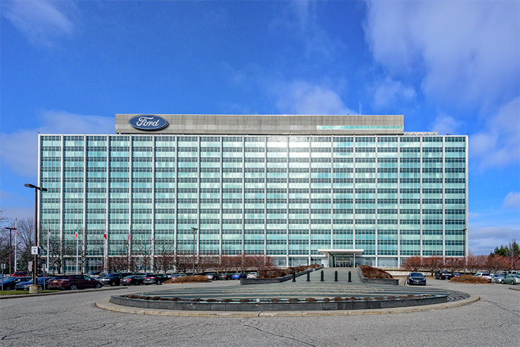 Ford World Headquarters. Photo by Doug Coombe.