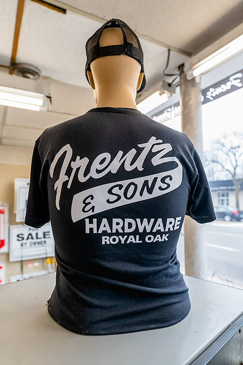 Frentz Hardware apparel