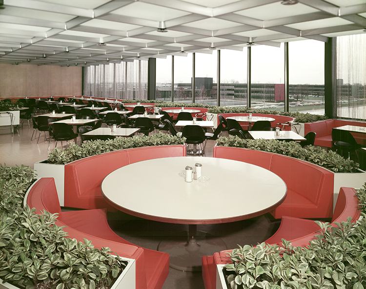 GM Tech Center Cafeteria