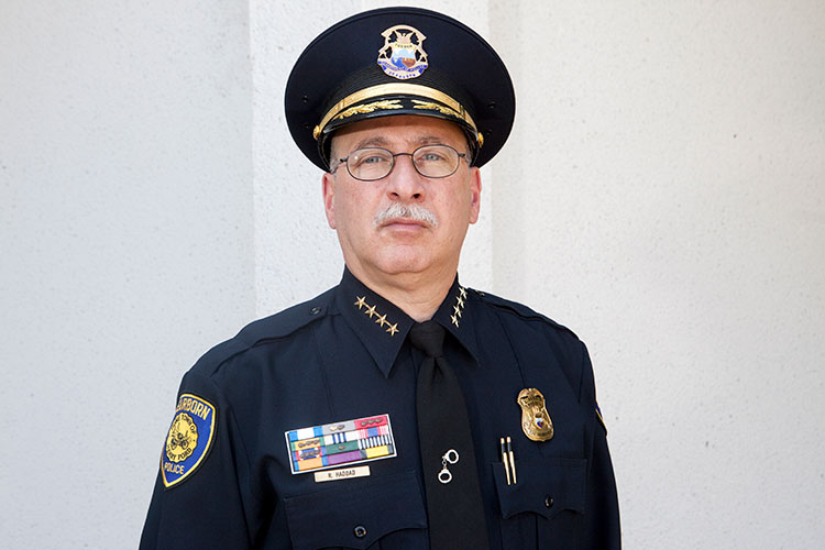 Chief Ronald Haddad. Photo courtesy City of Dearborn.