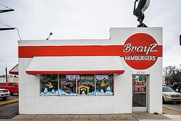 Brayz Hamburger, Hazel Park. Photo by David Lewinski.