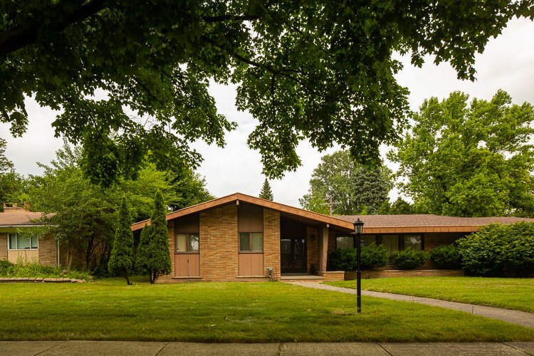 Southfield S Mid Century Cul De Sac Architecture Recognized For