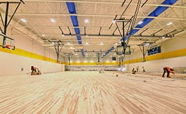 SC4 Fieldhouse. Photo courtesy St. Clair County Community College.