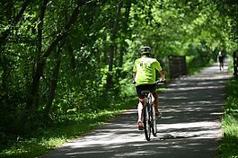 Macomb has 155 miles of constructed bike trails