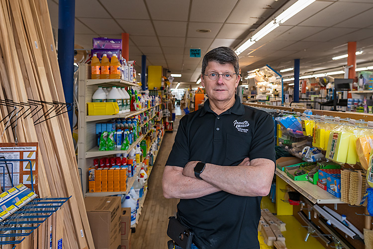 Mike Frentz, Co-owner, Frentz Hardware