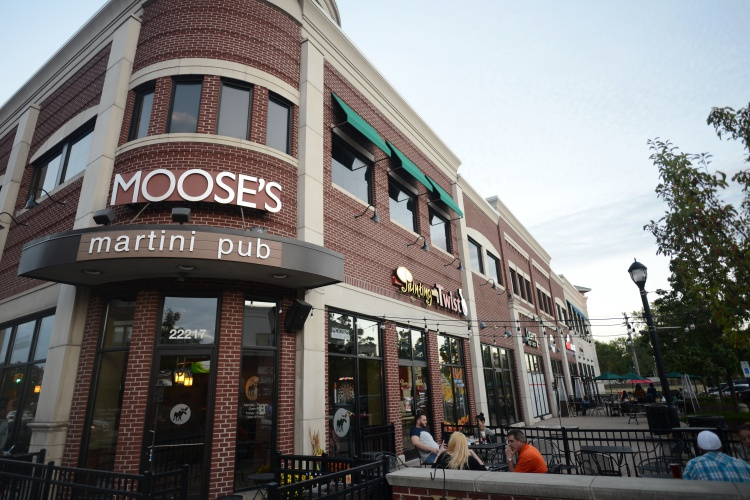 Moose's Martini Pub in West Dearborn is one of the spots offering outdoor seating.