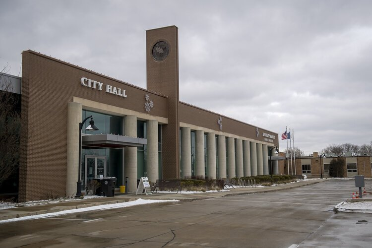 Oak Park City Hall is located downtown making it easier for residents to interact with city officials.