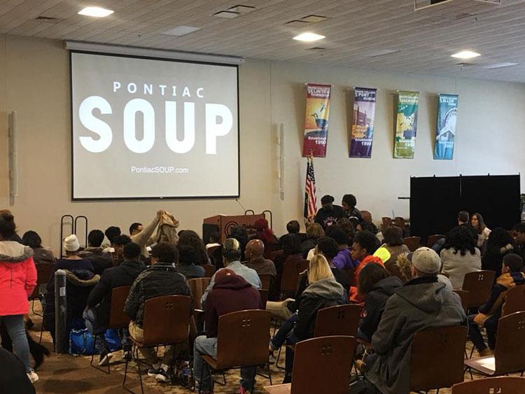 Mentorship group for child entrepreneurs wins Pontiac SOUP seed funding  prize