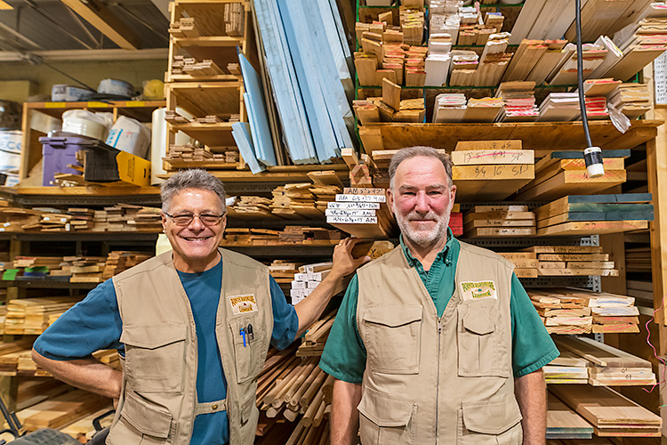 Randy Cousineau and Richard Becker, Co-owners, Pointe Hardware