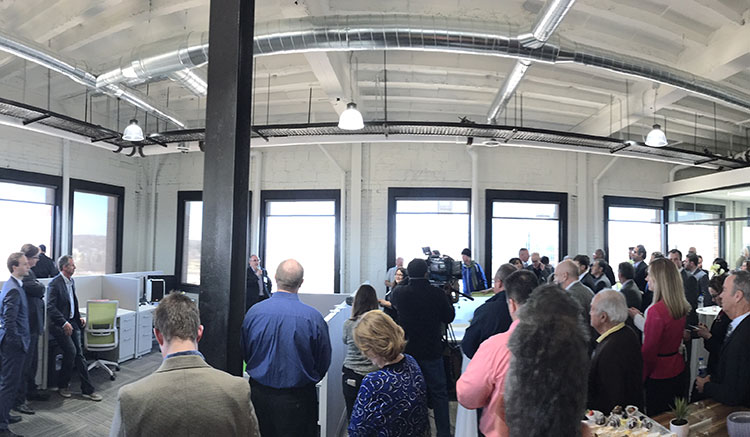 MadDog Technology grand opening in downtown Pontiac. Photo by Christian Marcillo.