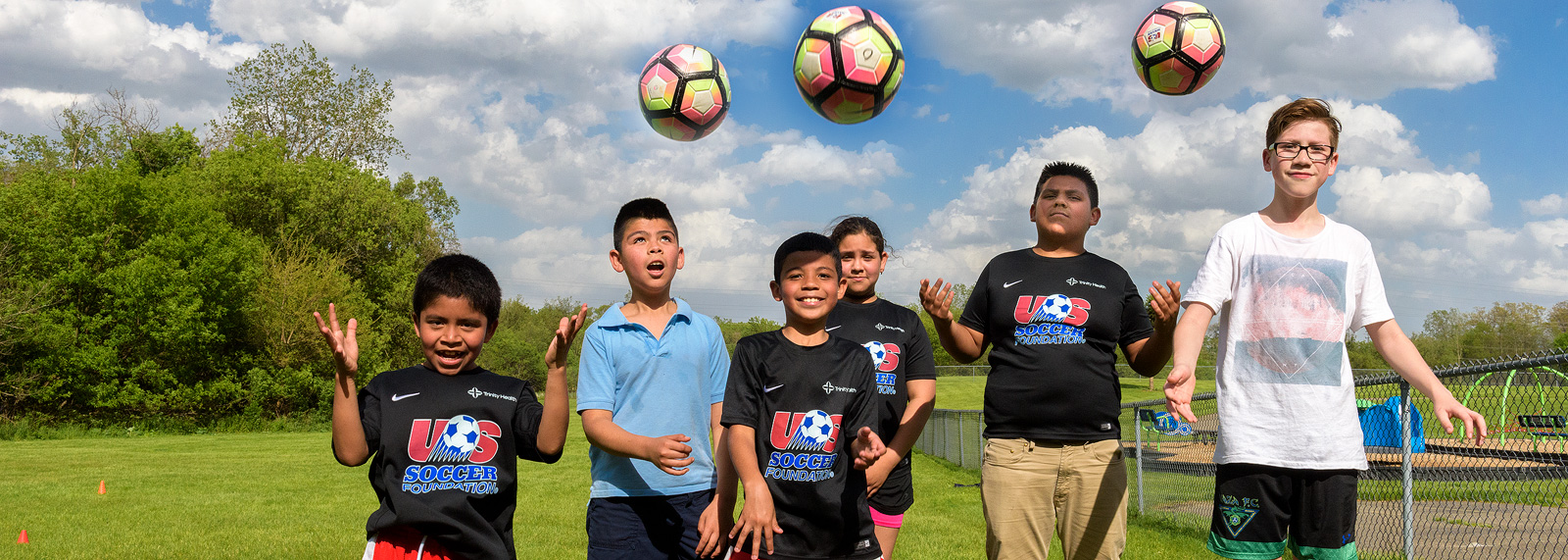 <span class='image-credits'>Pontiac youth learn soccer skills to stay healthy. Photo by Doug Coombe.</span>