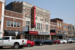 Strand Theatre. Photo by Doug Coombe.