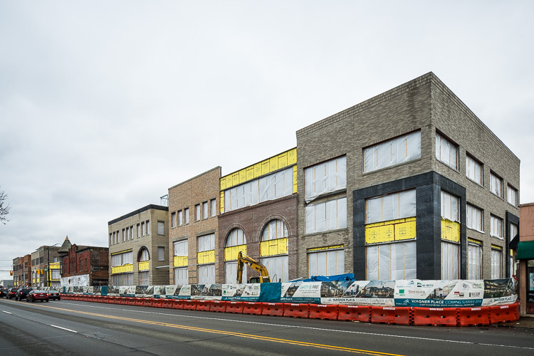 Wagner Place development in Dearborn. Photo by David Lewinski.