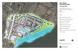 U.s. Steel Riverfront Site Concept Plan