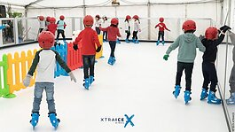 Xtraice rink in France