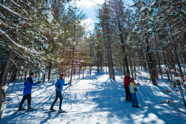 Cross Country Skiing/Photo courtesy of TC Tourism