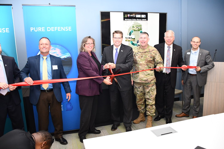 The latest hub on the Michigan Cyber Range opened at U.S. Army TARDEC at the Detroit Arsenal.