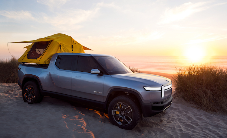 Rivian says it has no competitors in the electric adventure vehicle space.
