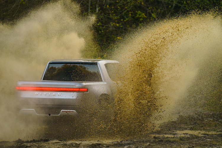 Rivian R1T and R1S will be available in 2020.