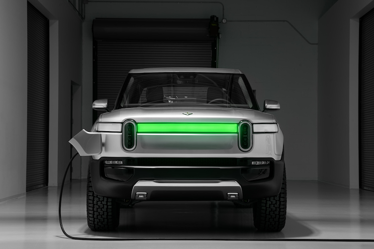 Rivian vehicles will have a 200- to 450-mile range.