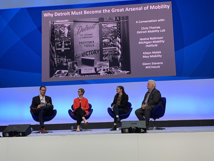 Mobility thought leaders discuss industry's role in building the mobility talent infrastructure in Michigan.