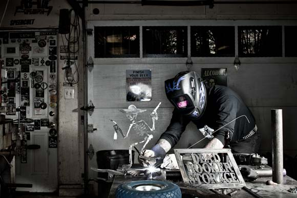 Len Von Speedcult Fabricating-New Boston  Photo by David Lewinski