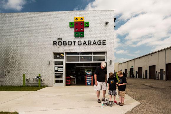 Birmingham Weles Its Lego Robot Masters