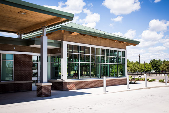 Pontiac's Multi-Modal Transportation Center  Photo by Dave Lewinski