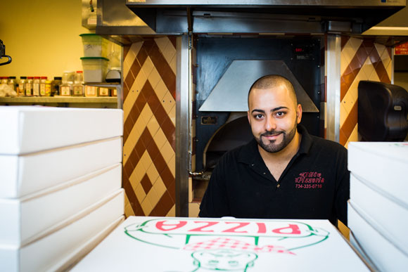 Sam Keaik of Elite Pizzeria in Canton