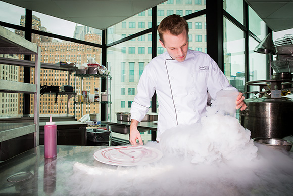 Justin Vaiciunas Clouded in Nitrogen at Top of The Ponch-Detroit