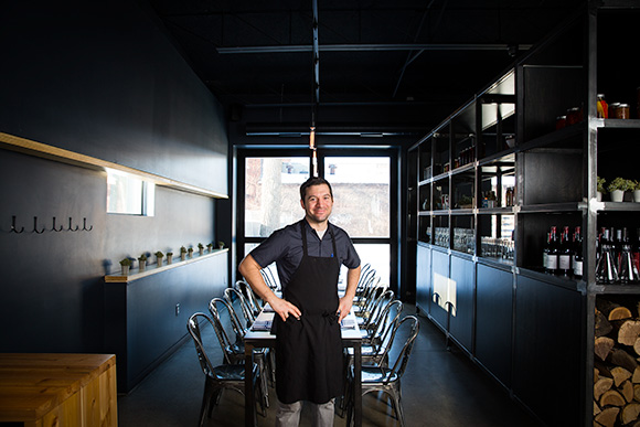 Chef Andy Hollyday at his Selden Standard-Detroit