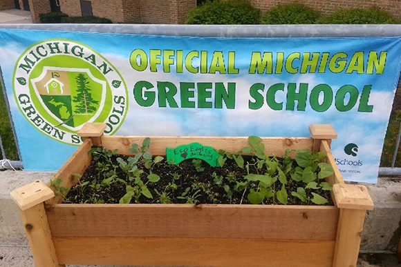 Southeast Michigan is home to more than 60 percent of the state's official Michigan Green Schools