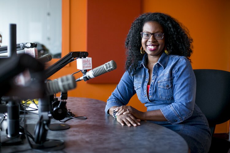 Motor City Woman Studios President and CEO Robin Kinnie grew up listening to and loving talk radio.