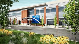 A rendering of the upcoming Bloomfield Township medical center, which will offer services such as cardiology, neurology, women's health, and more.
