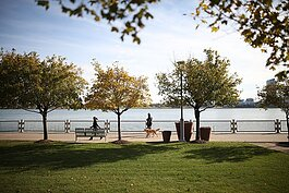 The Detroit Riverfront Conservancy is hosting Rise Together, a socially distant event on Sept. 23, Oct. 21, and Nov. 18.