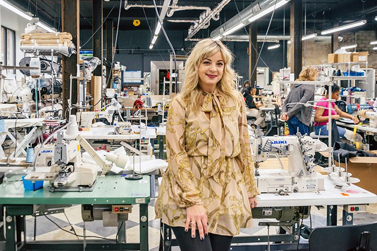 Karen Buscemi is CEO of Detroit Sewn, a full-service contract sewing and dye sublimation company.