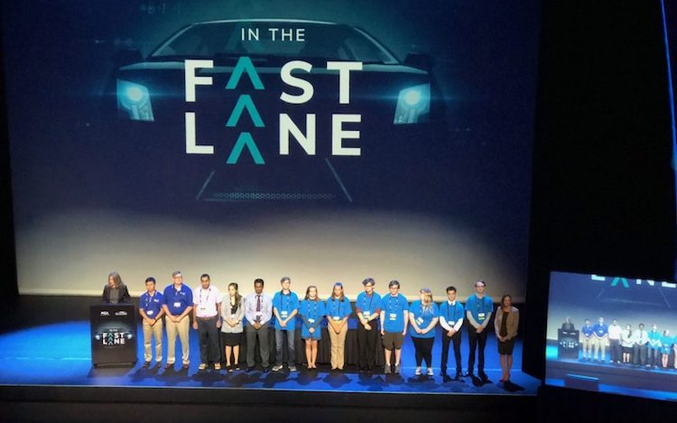 At this year's Auto-ISAC Annual Summit in Detroit, the Global Future Workforce Program gathered 38 high school, community college, and university students to showcase their work in front of leading industry professionals.