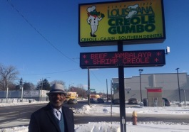 Joe Spencer, owner of Louisiana Creole Gumbo