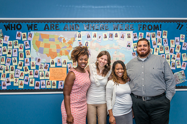 Teach for America Detroit - Latoya Asaya, Kammy Webb, Danielle Stringer, Peter Grace