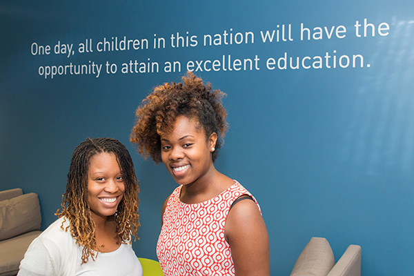 Teach for America Detroit - Danielle Stringer & Latoya Asaya