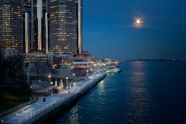 The Detroit International Riverfront