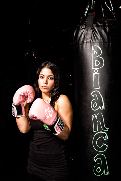 Bianca Bahri, owner of Fit2Fight